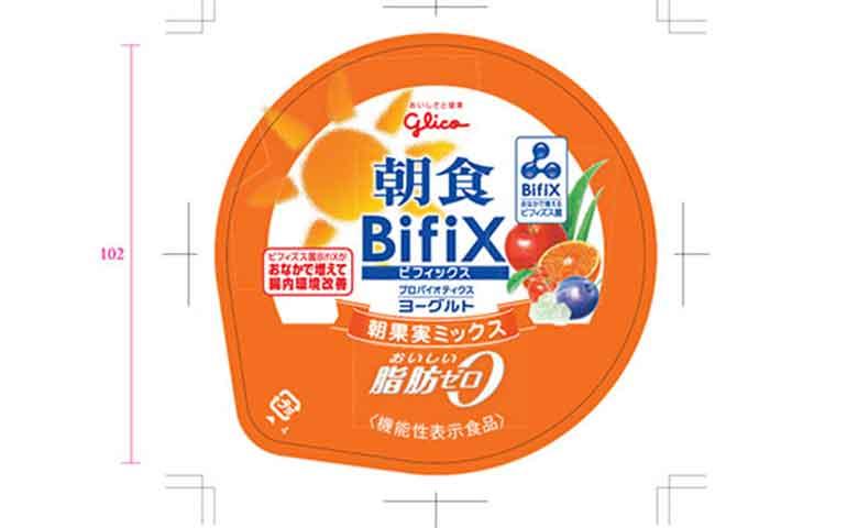 朝食 BifiX(ビフィックス)ヨーグルト 朝果実ミックス