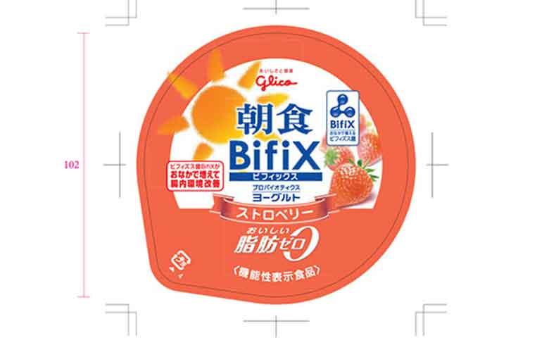 朝食 BifiX(ビフィックス)ヨーグルト ストロベリー