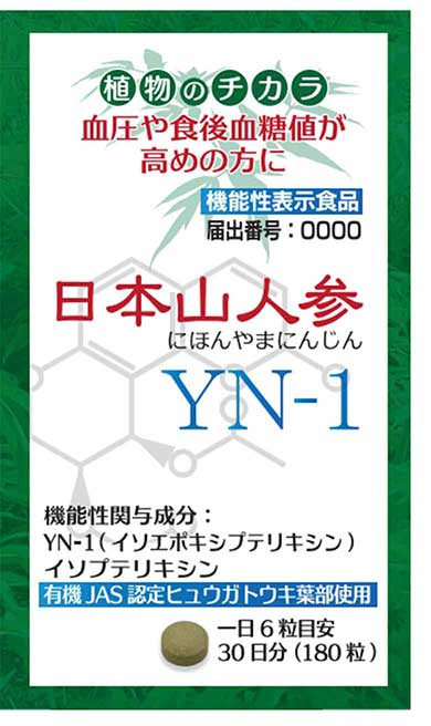 日本山人参YN‐1(ワイエヌ ワン)