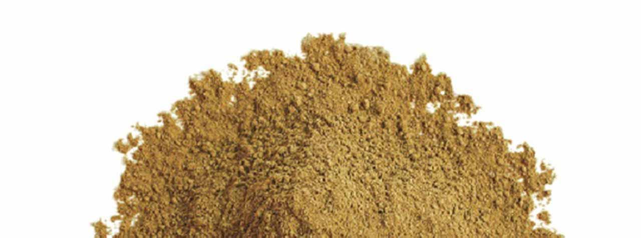 トヨタマ健康食品株式会社の原料桑の葉エキス末、商品名DNJエキスパウダーRF