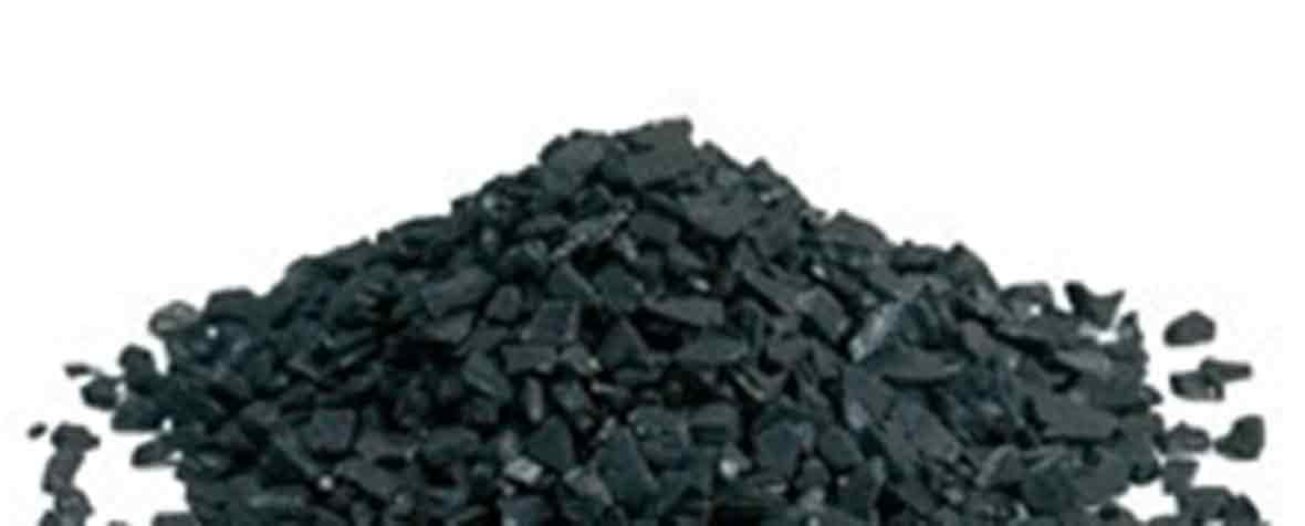 株式会社マツモト交商の原料ヤシ殻活性炭、商品名機能性ヤシ殻活性炭™粉末