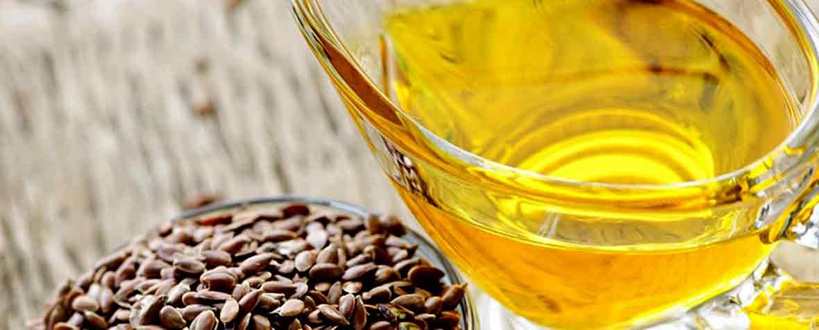 バイオアイ株式会社の原料亜麻仁油、商品名Flaxseed Oil 50% ALA (Cold Pressed & Refined)
