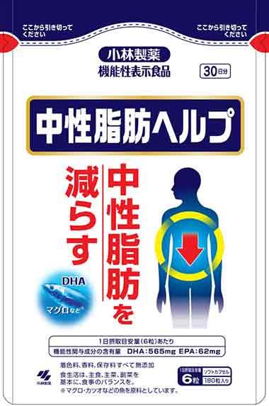 中性脂肪ヘルプ