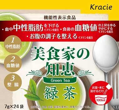 美食家の知恵 緑茶