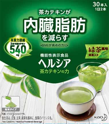 ヘルシア 茶カテキンの力