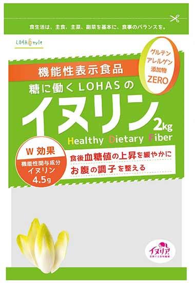 糖に働くLOHAS(ロハス)のイヌリン2kg(キログラム)