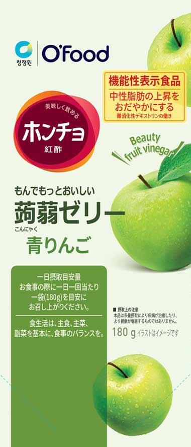 ホンチョ 蒟蒻ゼリー 青りんご