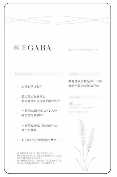 純正GABA a