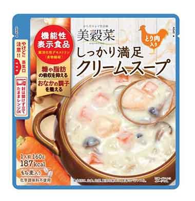 美穀菜 しっかり満足クリームスープ