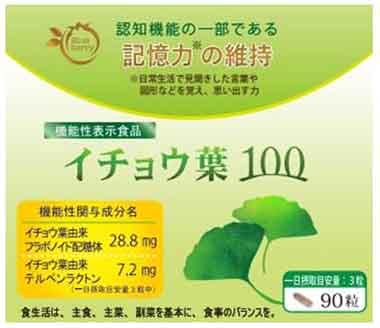 イチョウ葉100