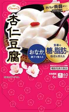 Tarami(タラミ) おいしい蒟蒻ゼリー PREMIUM(プレミアム) 杏仁豆腐
